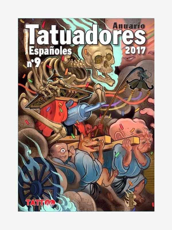 Spanish Tattoo Artists Yearbook 2017