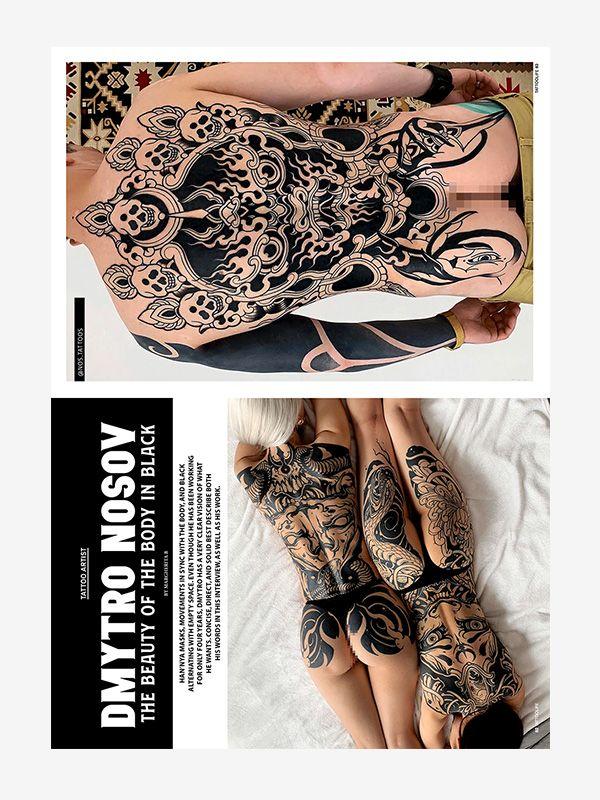 Dmytro Nosov, Tattoo Life September/October 2021