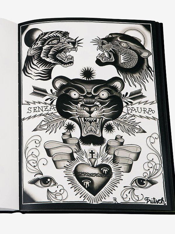 Lacrime e Sangue by Rudy Fritsch, The Great Books on the Art of Tattooing