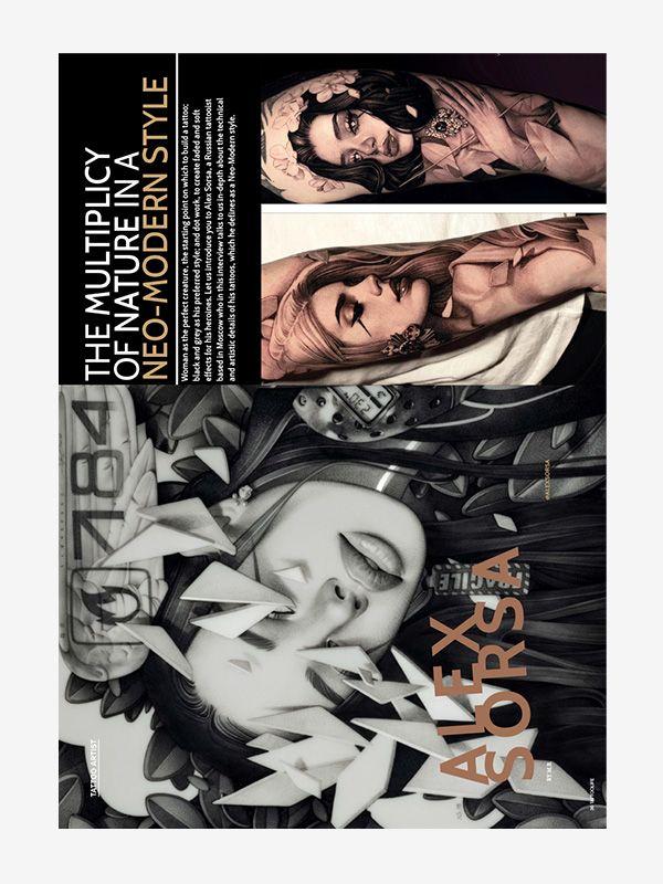 Alex Sorsa, Tattoo Life Magazine November-December 2021