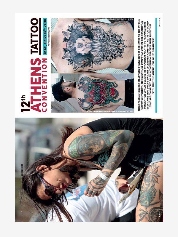 Athens Tattoo Convention, Tattoo Life Magazine September/October 2018