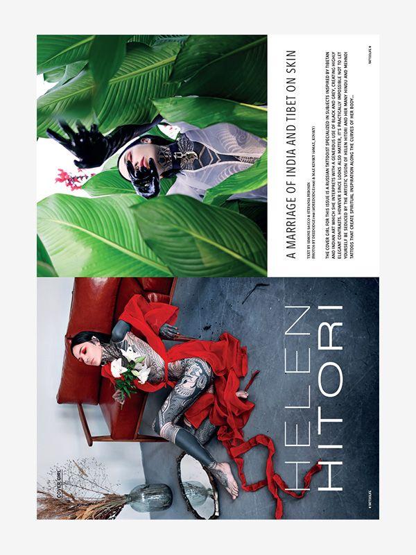 Cover Model: Helen Hitori, Tattoo Life November/December 2020
