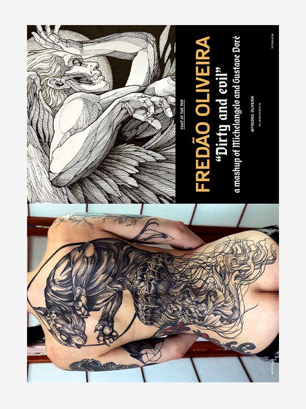 Fredão Oliveira, Tattoo Life Magazine 131