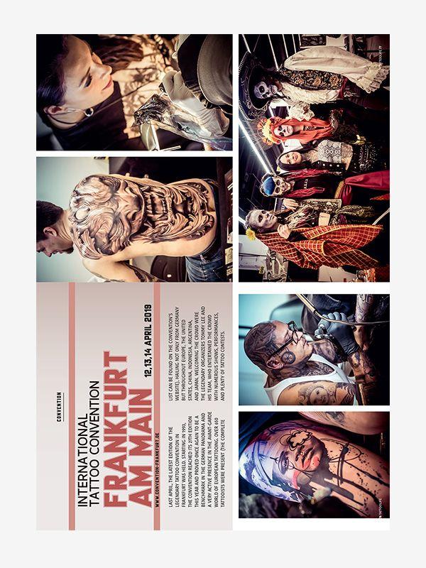 International Tattoo Convention Frankfurt, Tattoo Life July/August 2019