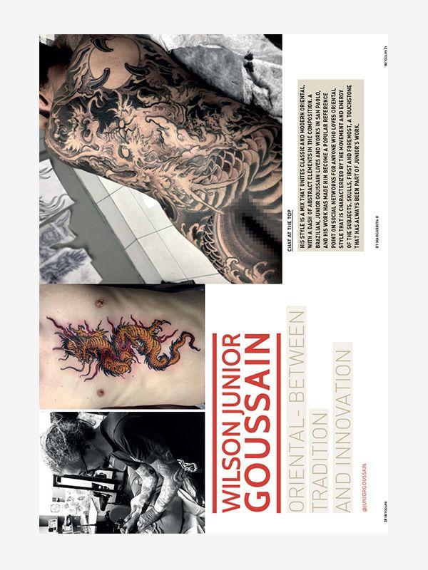 Junior Goussain, Tattoo Life November/December 2020
