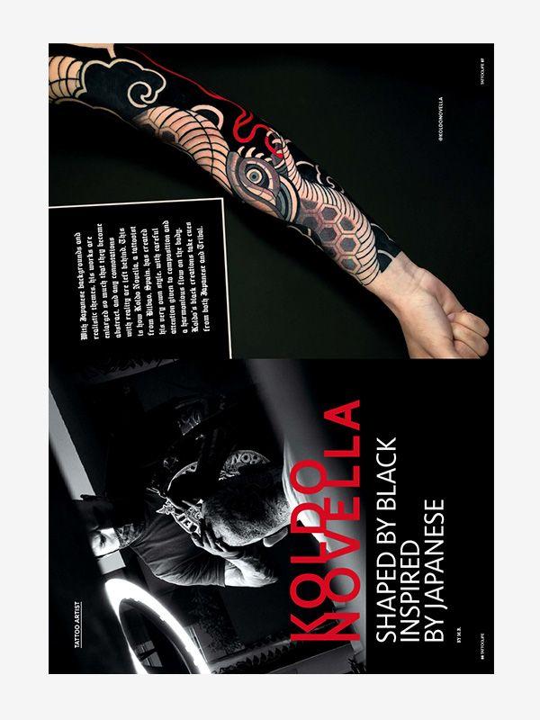 Koldo Novella, Tattoo Life Magazine November-December 2021