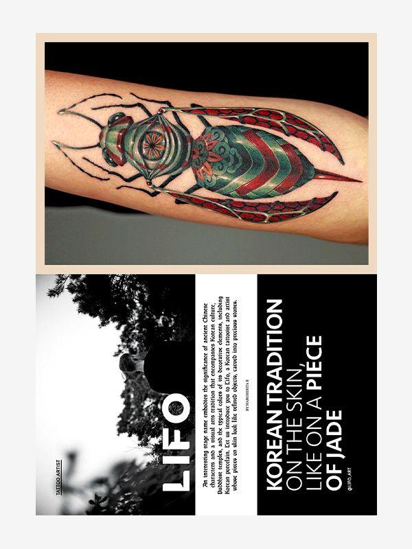Lifo , Tattoo Life Magazine 131