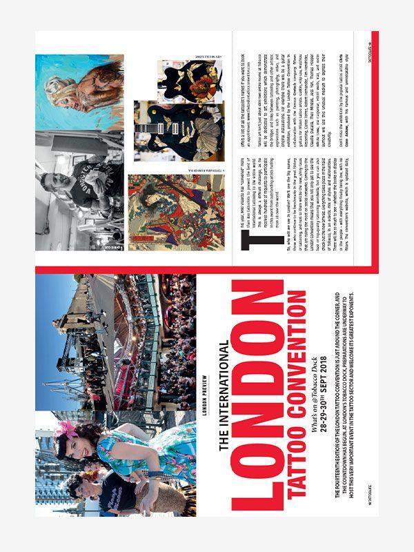 International London Tattoo Convention, Tattoo Life Magazine September/October 2018