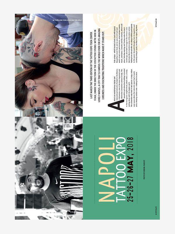 Naples Tattoo Expo, Tattoo Life Magazine September/October 2018