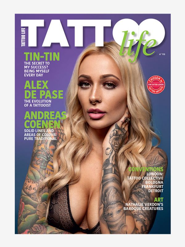 Tattoo Life Magazine July/August 2018 - Cover