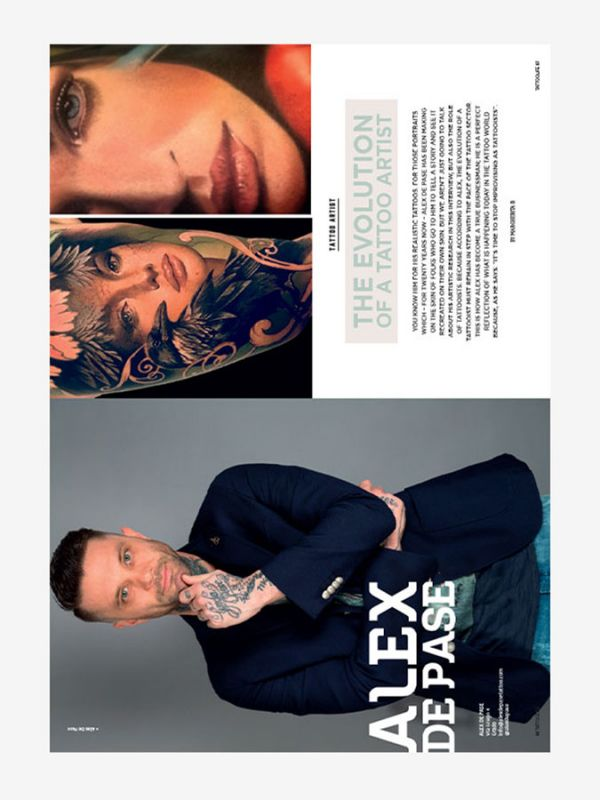 Tattoo Life Magazine July/August 2018 - Alex De Pase