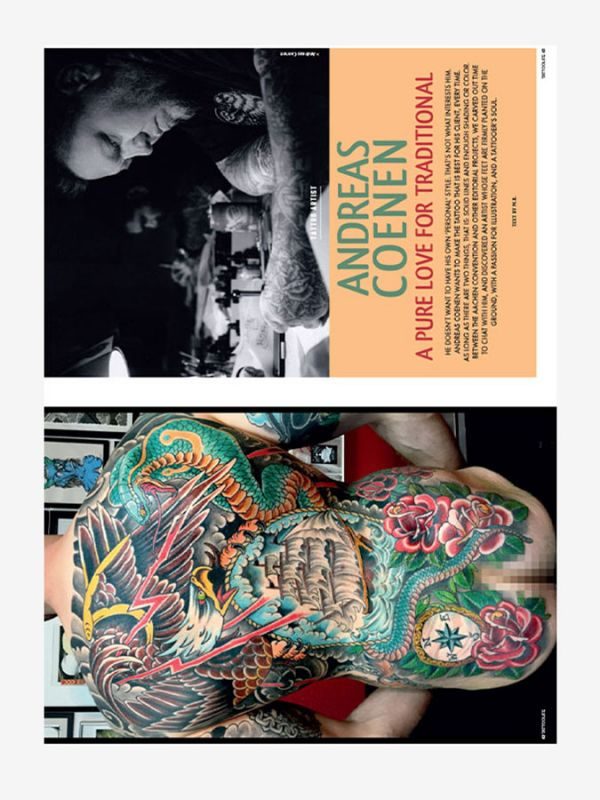 Tattoo Life Magazine July/August 2018 - Andreas Coenen