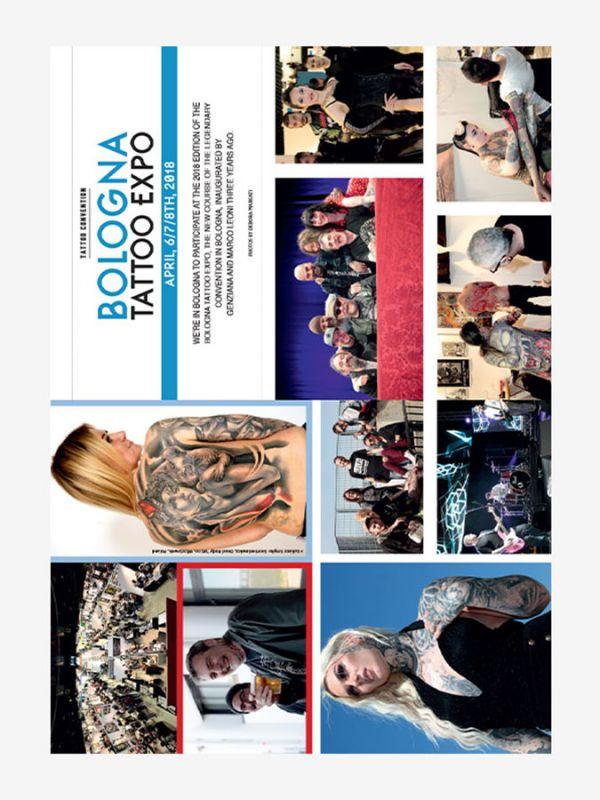 Tattoo Life Magazine July/August 2018 - Bologna Tattoo Expo