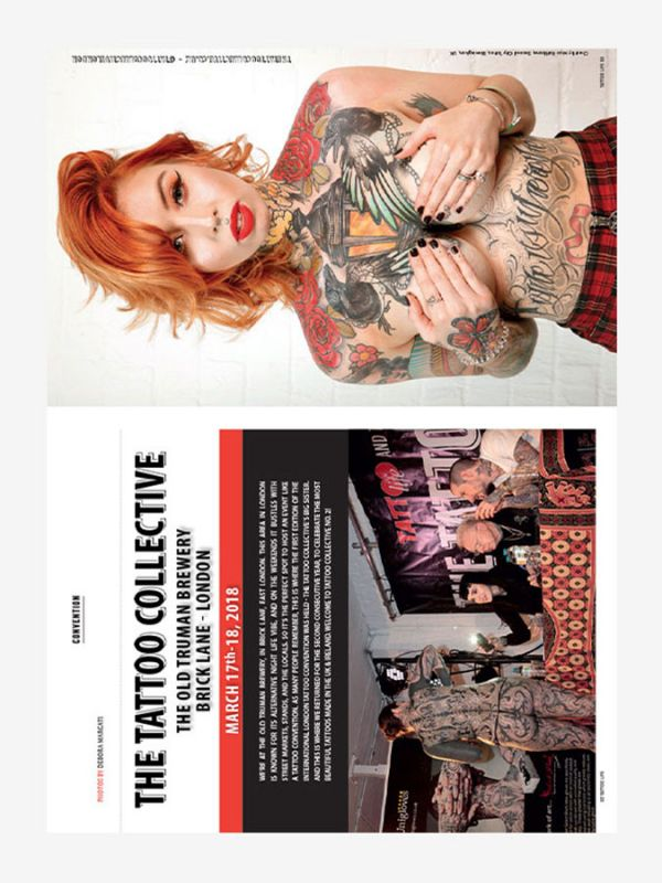 Tattoo Life Magazine July/August 2018 - London Tattoo Collective