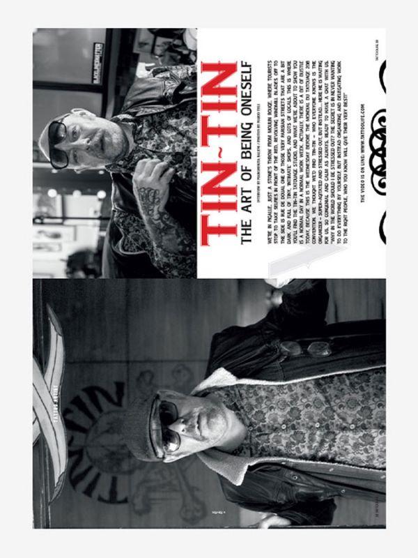 Tattoo Life Magazine July/August 2018 - Tin Tin