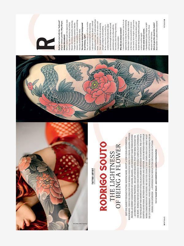 Rodrigo Souto, Tattoo Life July/August 2019