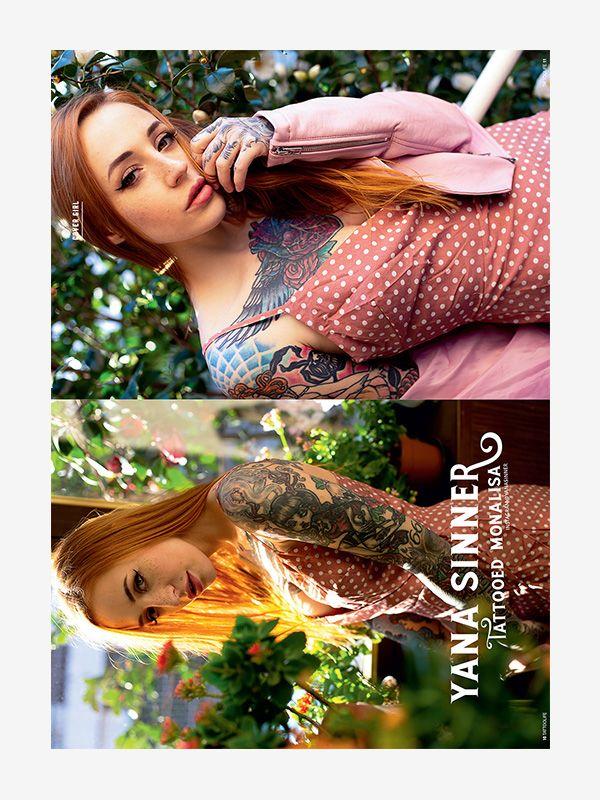 Cover Girl: Yana Sinner – Tattooed Mona Lisa